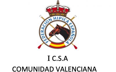 CONCURSO DE SALTO DE OBST�CULOS COMUNIDAD VALENCIANA HOGUERAS JULIO 2021